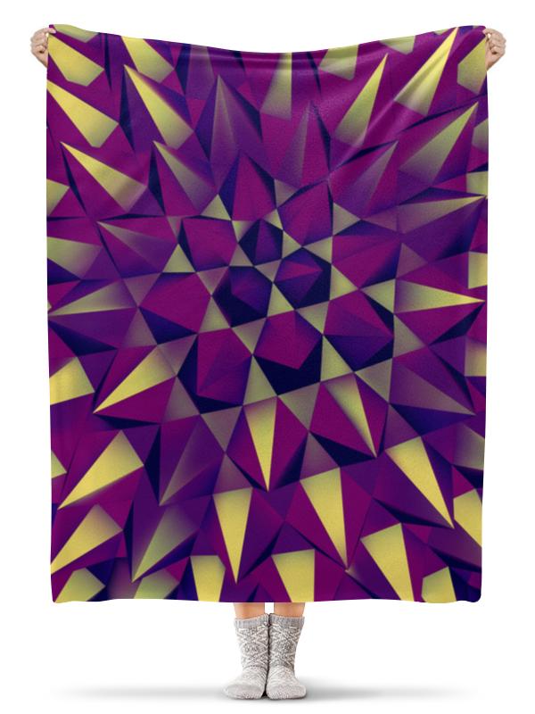 Плед флисовый 130х170 см Printio Абстракция плед флисовый 130х170 см printio абстракция