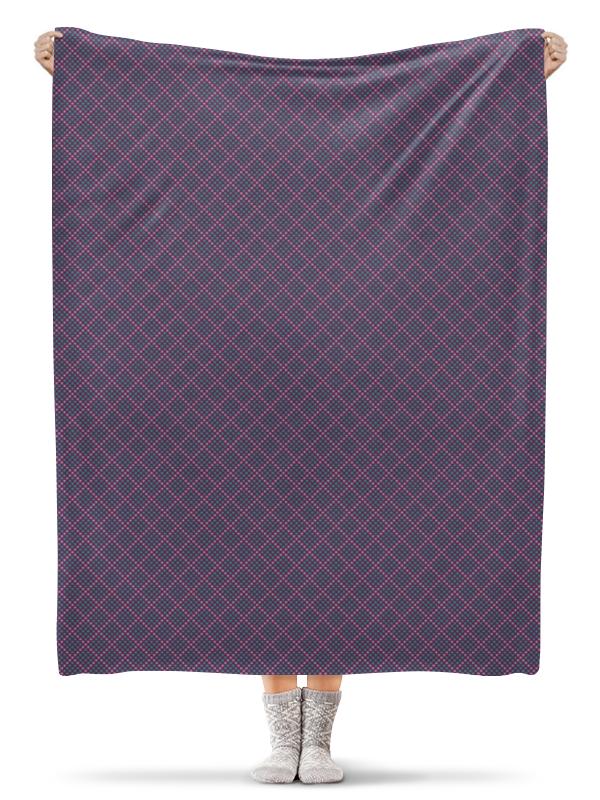 Плед флисовый 130х170 см Printio Сердечки