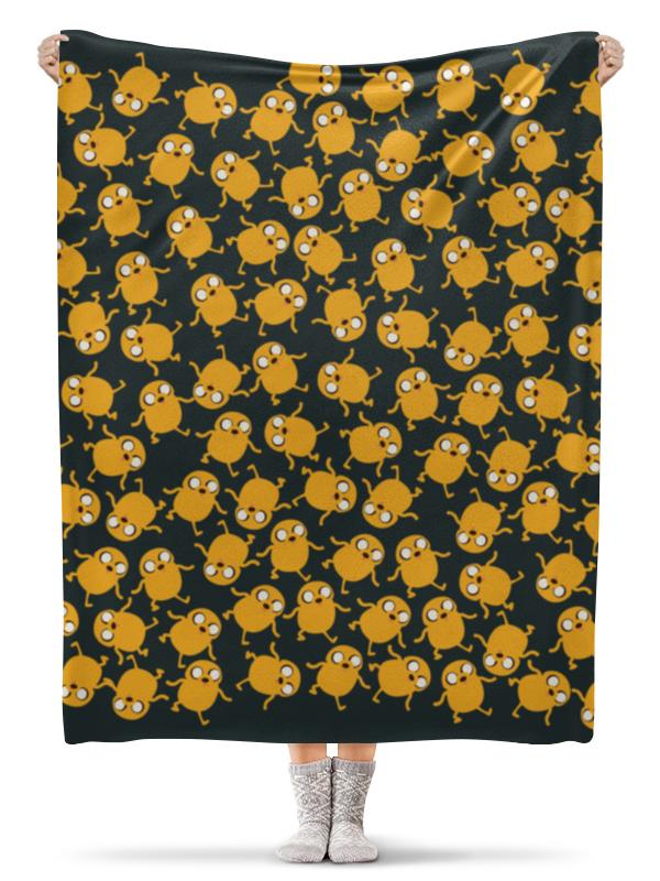 Плед флисовый 130х170 см Printio Джейк сумка printio джейк jake the dog