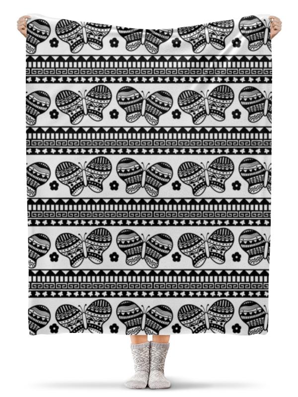 Плед флисовый 130х170 см Printio Бабочки xintown camouflage winter long sleeved