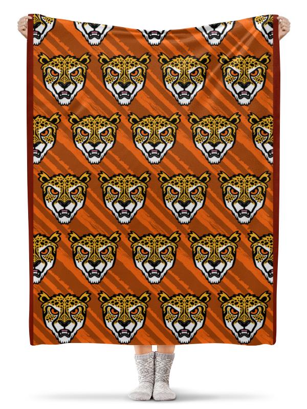 Printio Леопарды плед флисовый 130х170 см printio кирпичная кладка