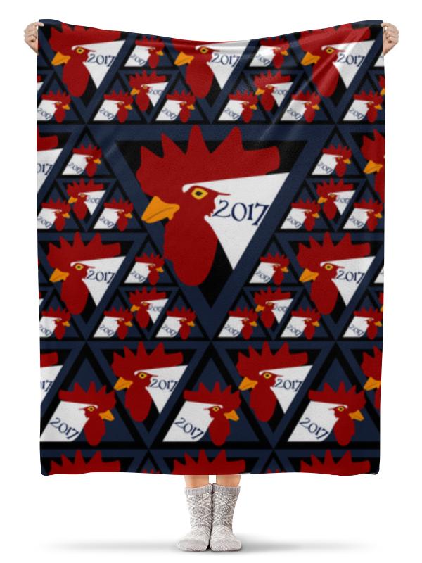 Плед флисовый 130х170 см Printio Год петуха скальп петуха veniard chinese cock cape