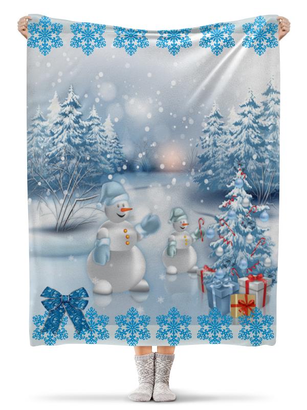 Плед флисовый 130х170 см Printio Рождество printio плед флисовый 130х170 см