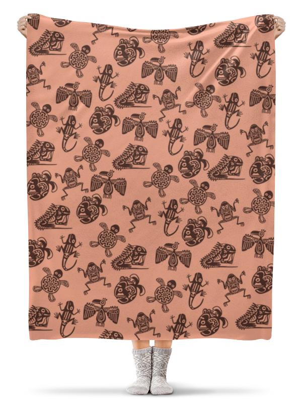 Плед флисовый 130х170 см Printio В стиле майя плед флисовый 130х170 см printio этнический