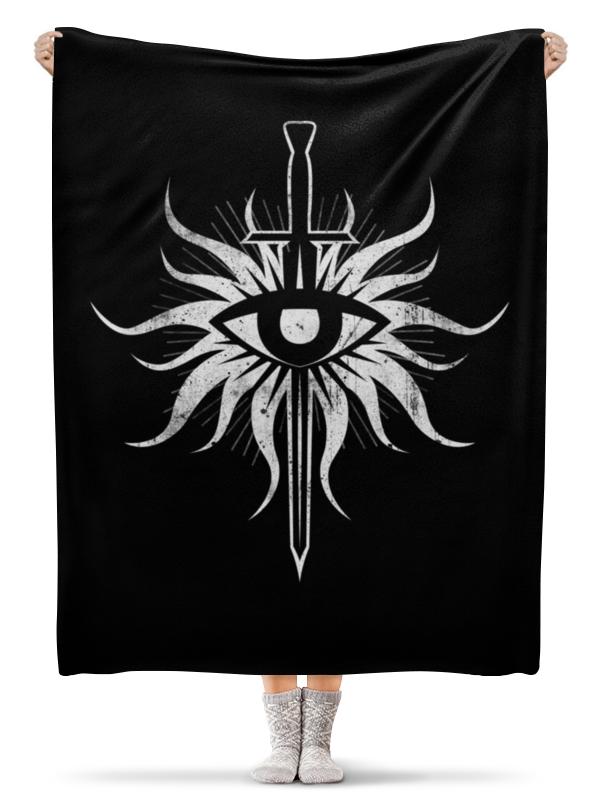 все цены на  Плед флисовый 130х170 см Printio Dragon age. инквизиция  онлайн
