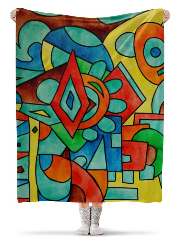 Плед флисовый 130х170 см Printio Z//;vcw`0m0 цена и фото
