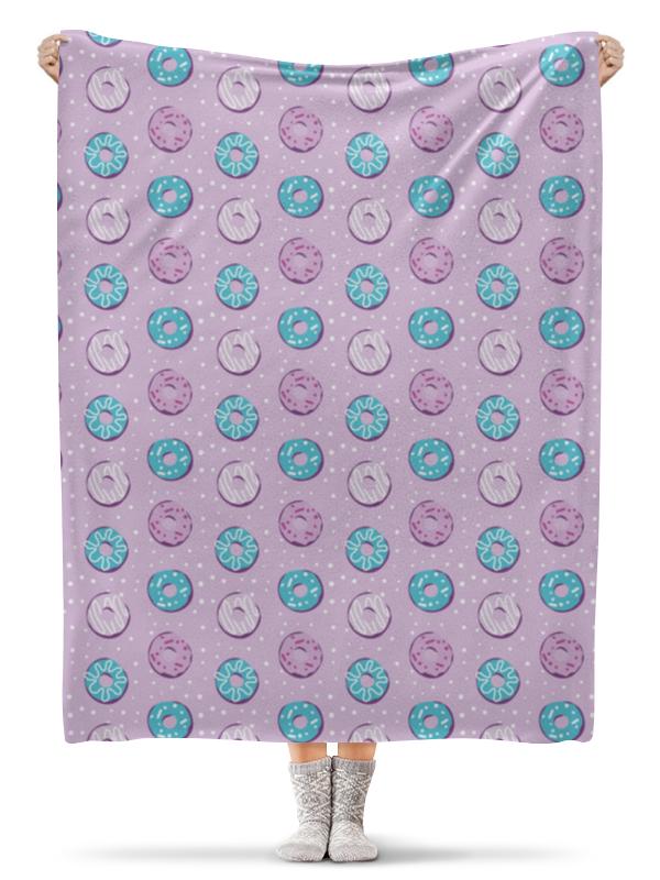 Плед флисовый 130х170 см Printio Поп арт дизайн. пончики паттерн плакат a3 29 7x42 printio яркий красивый модный гелакси дизайн паттерн