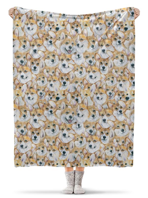 Плед флисовый 130х170 см Printio Моя любимая собака clever моя любимая еда л фадеев