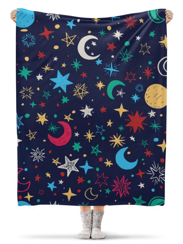 Плед флисовый 130х170 см Printio Звёздное небо плед флисовый 130х170 см printio звёздное небо