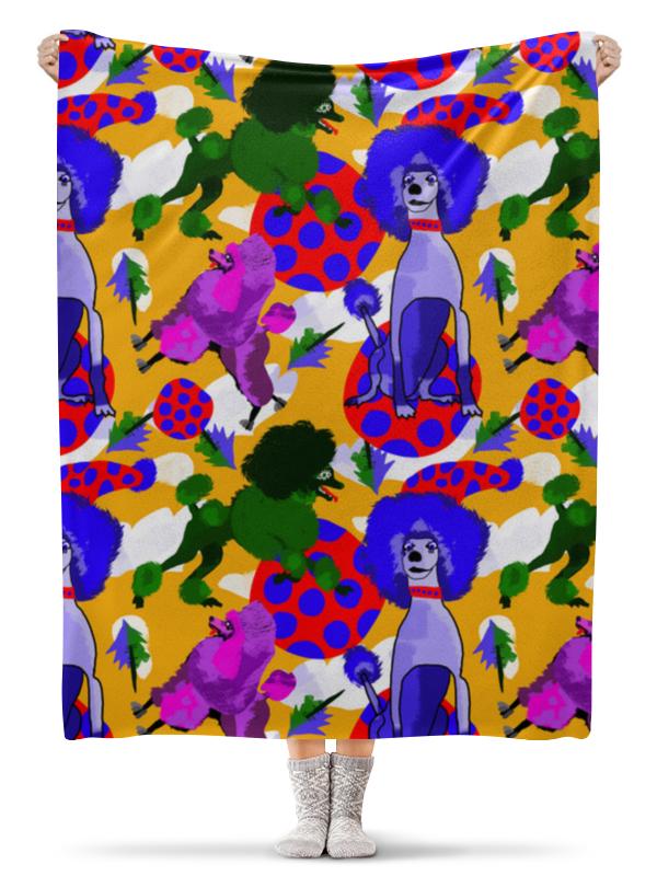 Плед флисовый 130х170 см Printio Веселые пуделя детский свитшот унисекс printio веселые пуделя