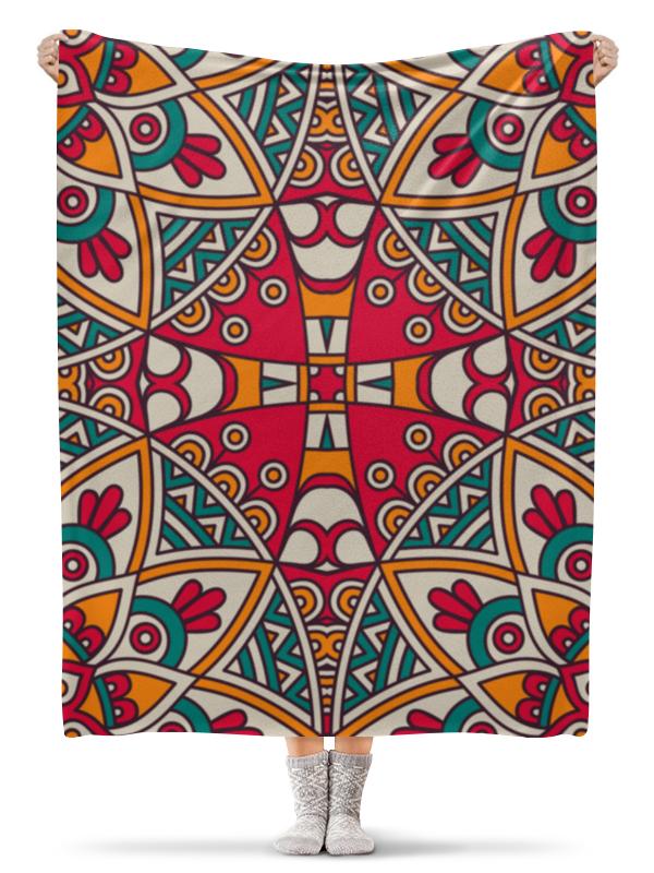 Плед флисовый 130х170 см Printio Орнамент плед флисовый 130х170 см printio париж