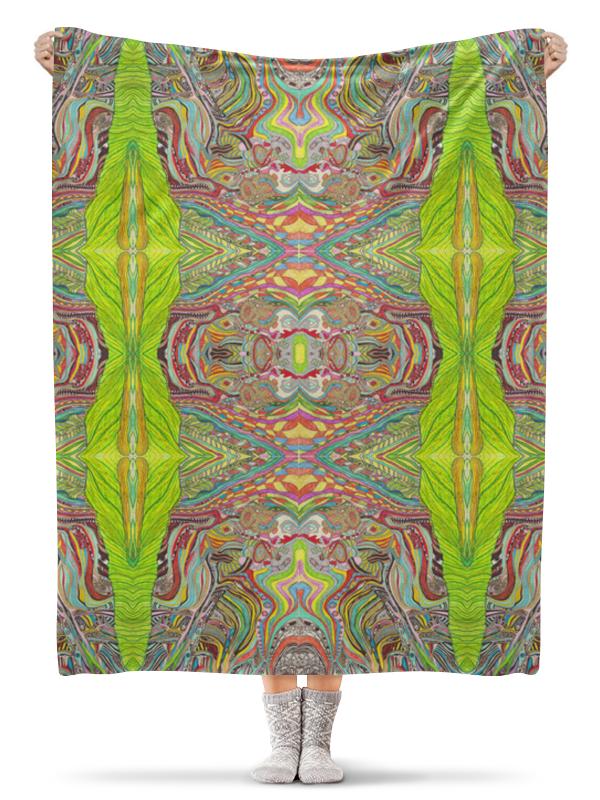 Плед флисовый 130х170 см Printio Ом дракон узоры пледовые наклейки декоративные кружевные узоры