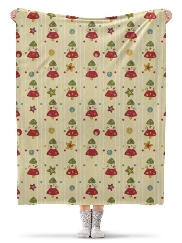 Плед флисовый 130х170 см Printio Новогодний