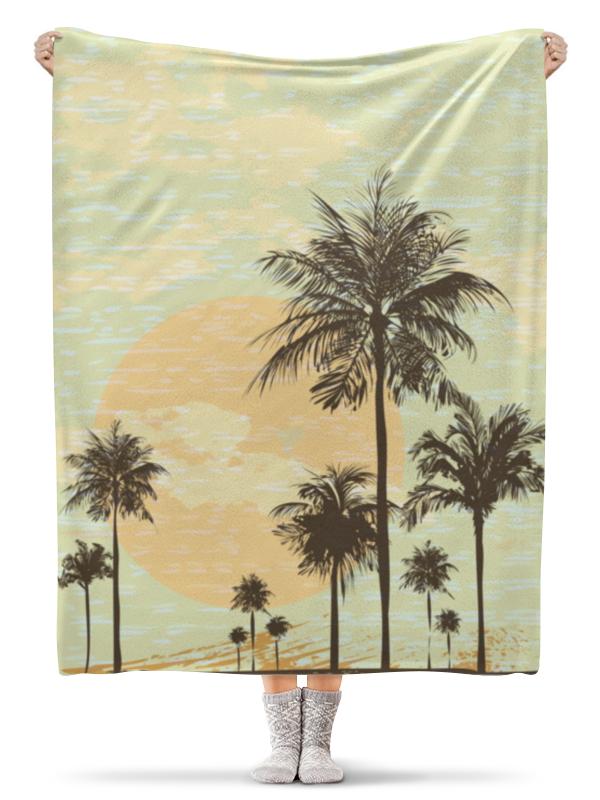 Плед флисовый 130х170 см Printio Гавайи плед флисовый 130х170 см printio гавайи