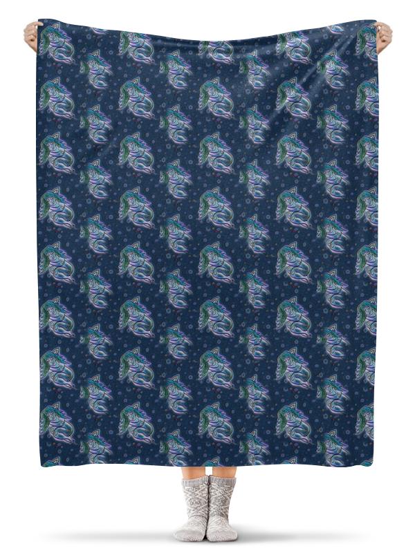 Плед флисовый 130х170 см Printio Дремлющая троллита цены