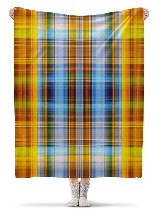 Плед флисовый 130х170 см Printio Шотландия