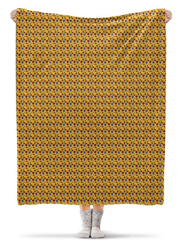 Плед флисовый 130х170 см Printio Цветы на окне плед флисовый 130х170 см printio тропические цветы