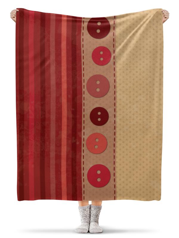 Printio На пуговицах плед флисовый 130х170 см printio петух символ 2017 года