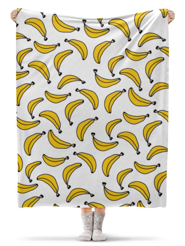 Плед флисовый 130х170 см Printio Бананы плед флисовый 130х170 см printio свин бэтмен