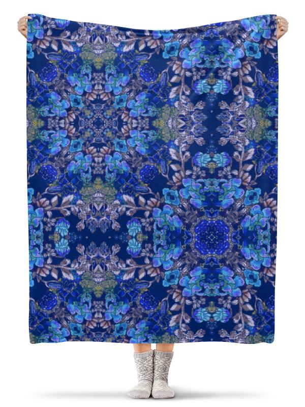 Плед флисовый 130х170 см Printio Красивый растительный цветочный орнамент, паттерн плакат a3 29 7x42 printio яркий красивый модный гелакси дизайн паттерн