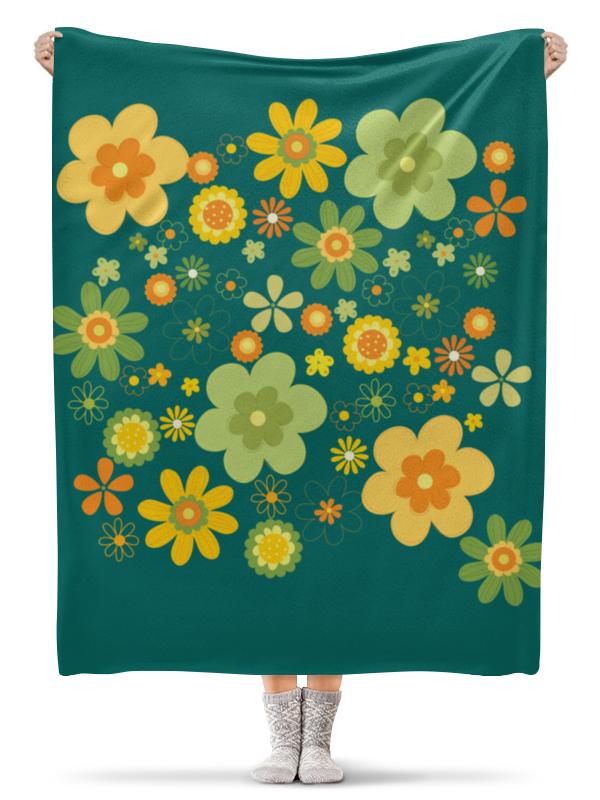 Плед флисовый 130х170 см Printio Хиппи плед флисовый 130х170 см printio экзотические цветы