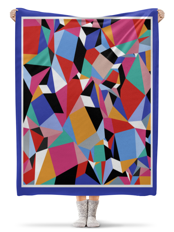 Printio Абстракция плед флисовый 130х170 см printio абстракция
