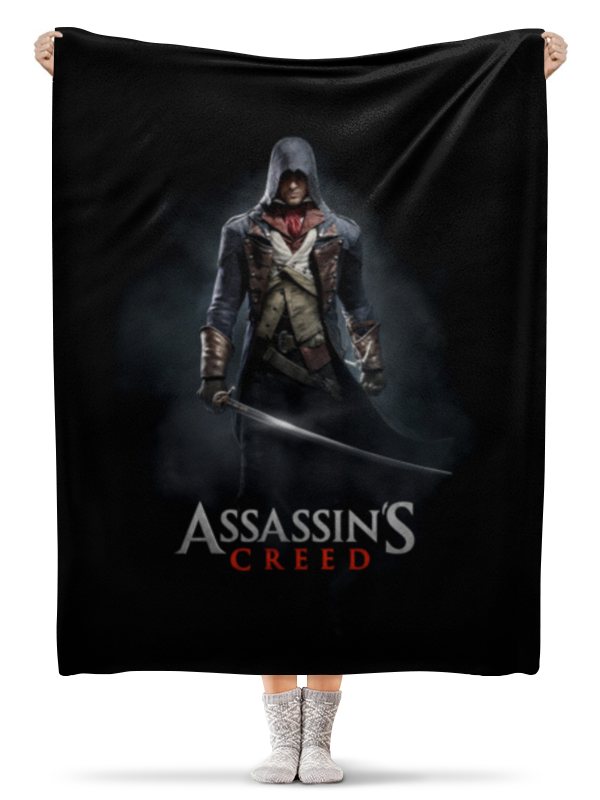 Плед флисовый 130х170 см Printio Assassins creed (unity arno) mt5325eadj