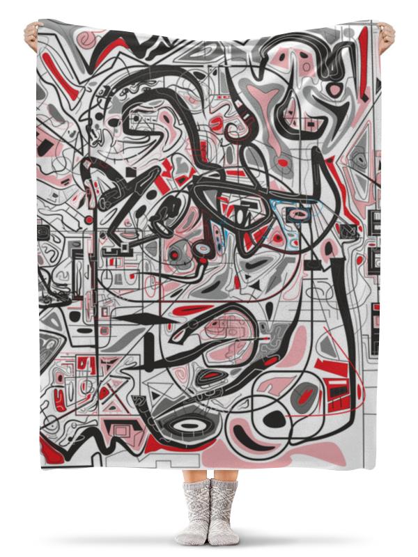 Плед флисовый 130х170 см Printio Mamewax