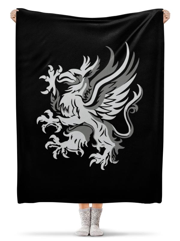 Плед флисовый 130х170 см Printio Dragon age. серые стражи кружка printio dragon age серые стражи