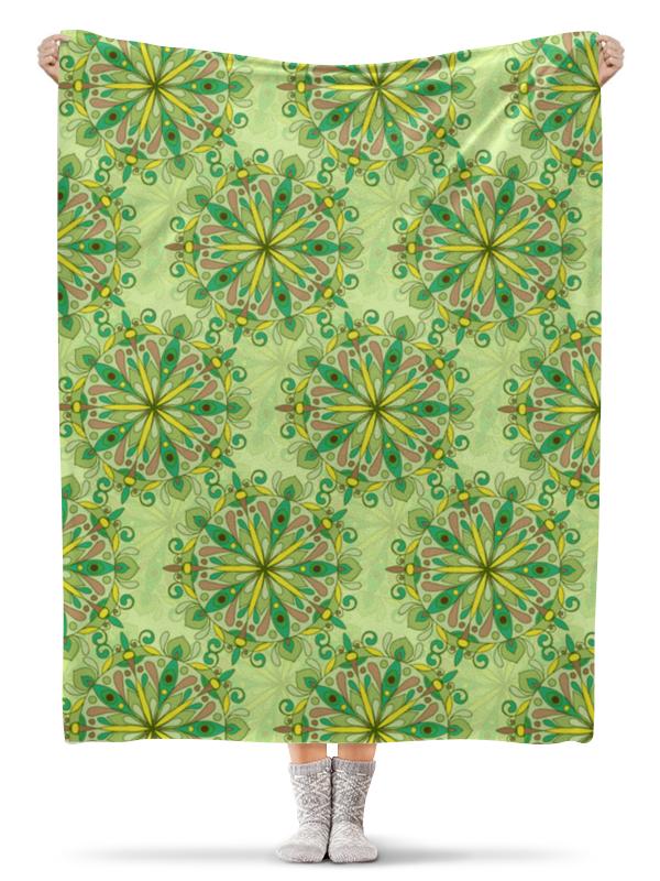 Плед флисовый 130х170 см Printio Зелёное поле азбука лейла блу зелёное заклятие