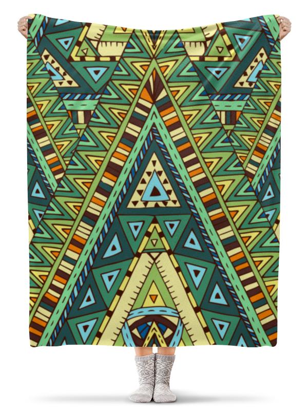 Плед флисовый 130х170 см Printio Орнамент плед флисовый 130х170 см printio кирпичная кладка