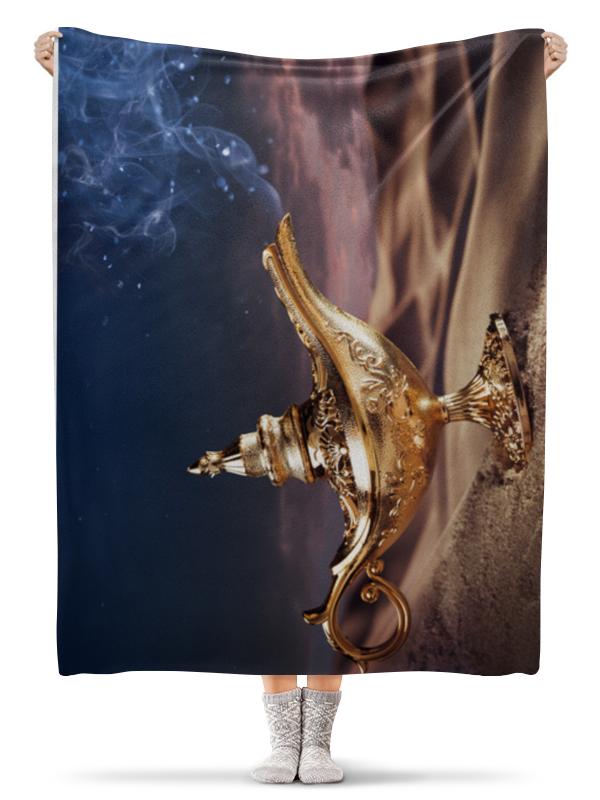 Плед флисовый 130х170 см Printio Лампа джина плед флисовый 130х170 см printio star wars звездные войны