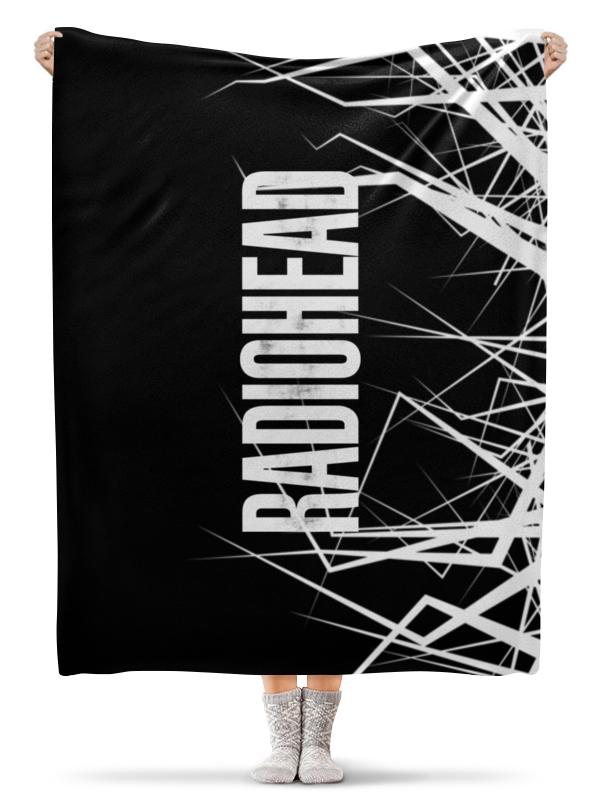 Плед флисовый 130х170 см Printio Radiohead cd из японии radiohead