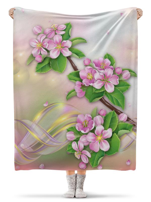 Плед флисовый 130х170 см Printio Яблоня торт printio яблоня