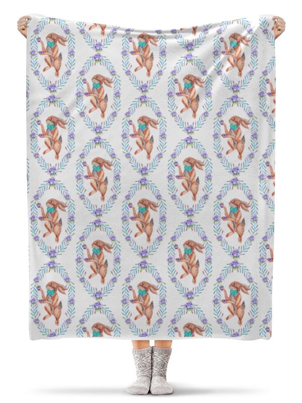 Printio Кролик плед флисовый 130х170 см printio spb python more than python wrap deep blue