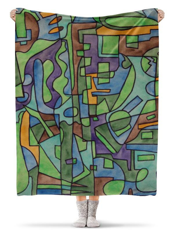 Плед флисовый 130х170 см Printio W`zzzzcx`90.1 юбка в складку printio w zzzzcx 90 1