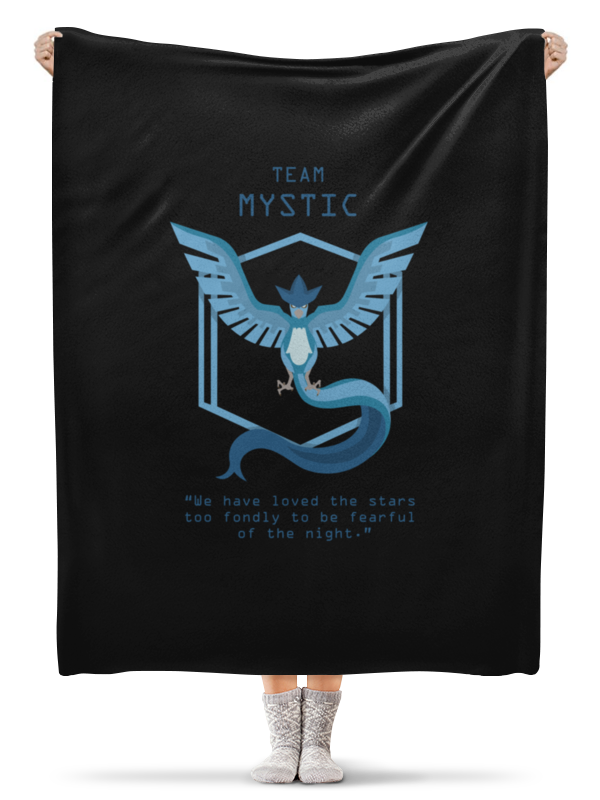 Плед флисовый 130х170 см Printio Team mystic mystic пуловер