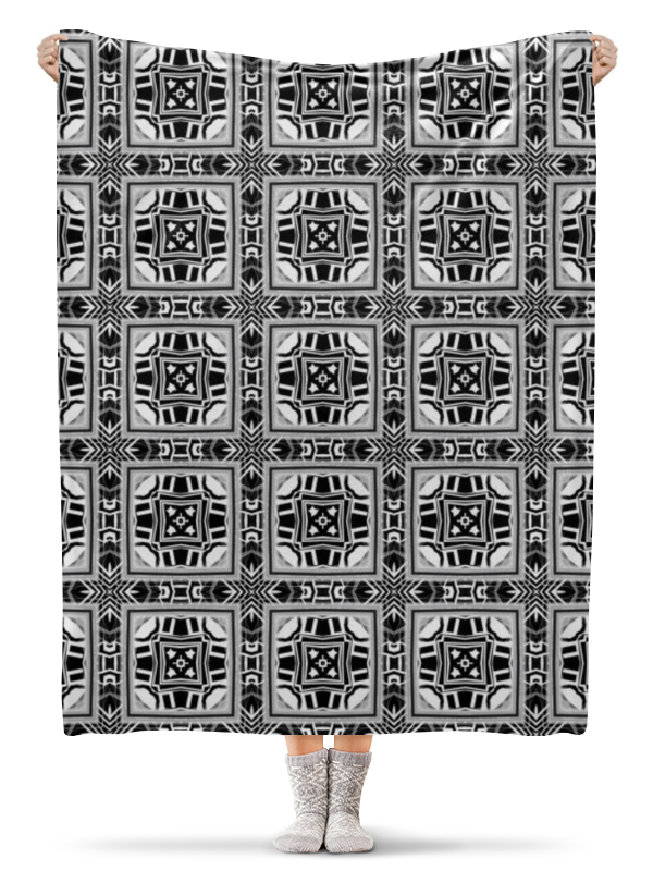 Плед флисовый 130х170 см Printio Hkkknmnm200056