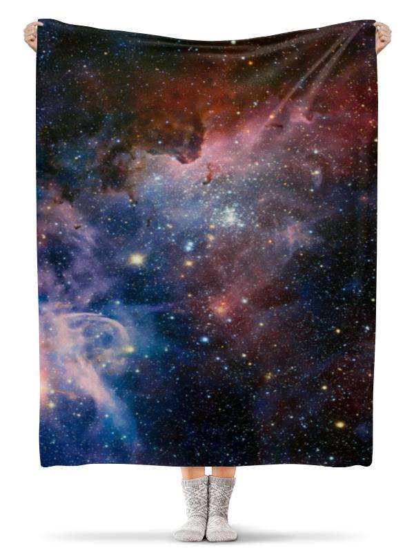 Плед флисовый 130х170 см Printio Космос wellber стельное белье для детской кровати 145x100cm