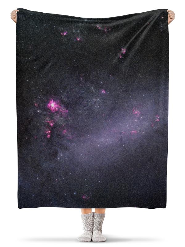 Плед флисовый 130х170 см Printio Вселенная