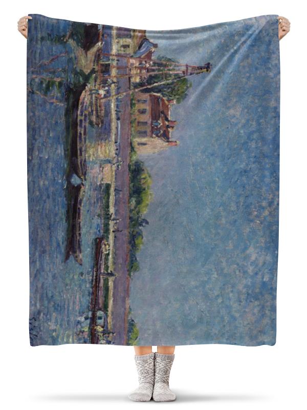Фото - Плед флисовый 130х170 см Printio Замок сан-мамес (альфред сислей) сислей шедевры