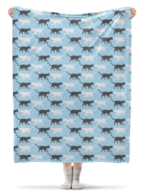 Плед флисовый 130х170 см Printio Котики плед флисовый 130х170 см printio собачки