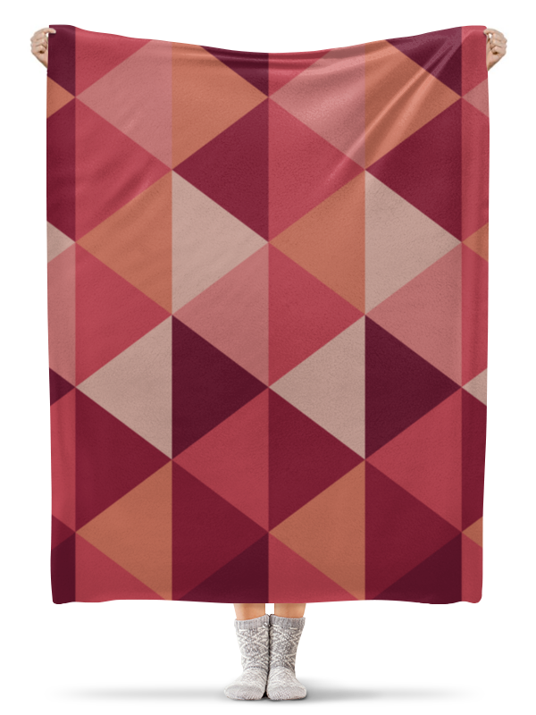 Printio Геометричиская абстракция плед флисовый 130х170 см printio абстракция