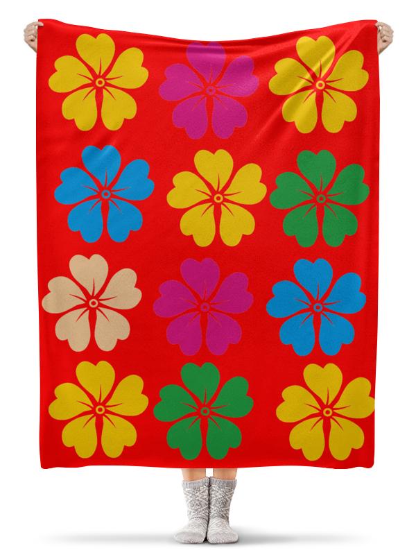 Плед флисовый 130х170 см Printio Лилии lilies