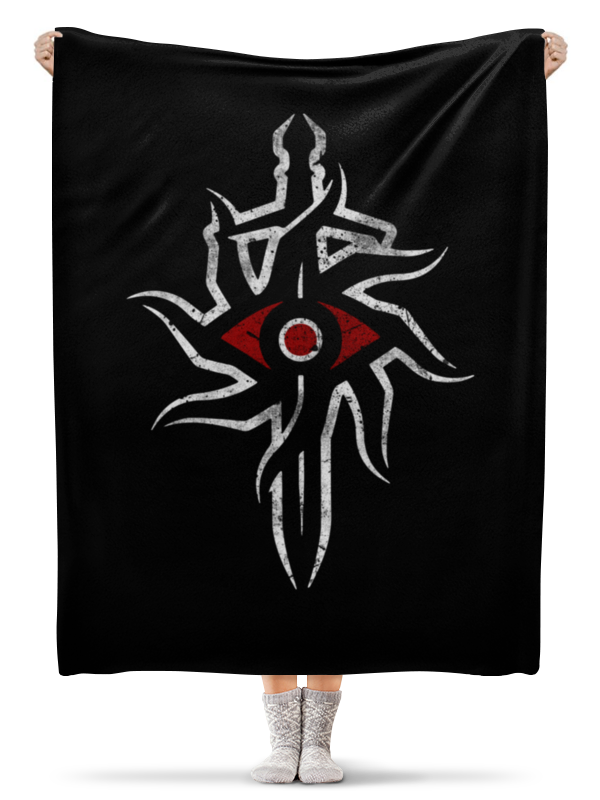 Плед флисовый 130х170 см Printio Dragon age. инквизиция