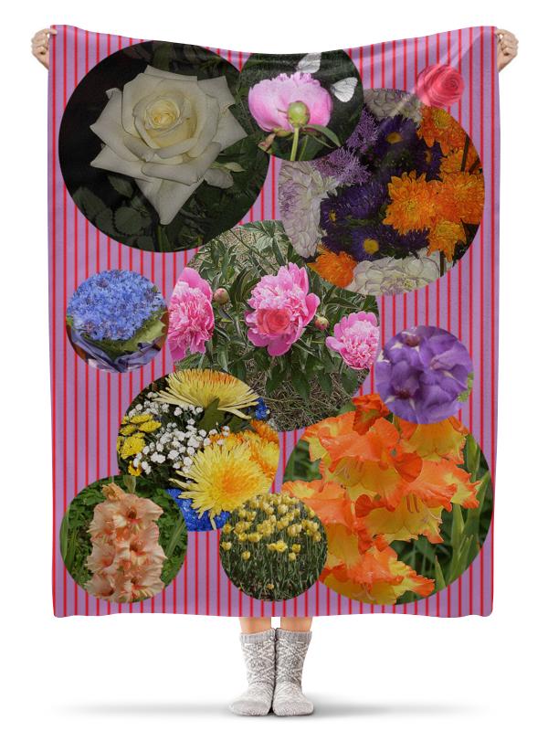 Плед флисовый 130х170 см Printio Цветочная поляна. ароматизатор fouette ecology цветочная поляна мембранный