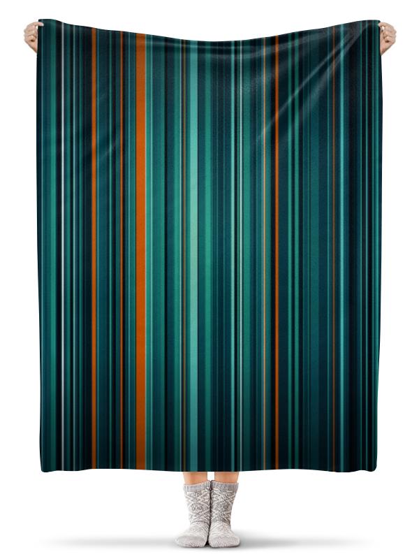Printio Полосатая абстракция плед флисовый 130х170 см printio абстракция
