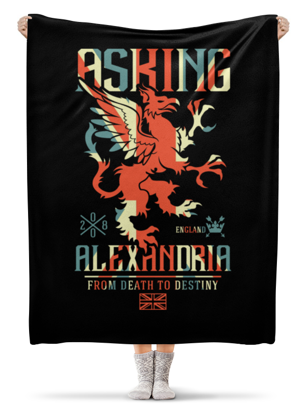 Плед флисовый 130х170 см Printio Asking alexandria плед флисовый 130х170 см printio asking alexandria