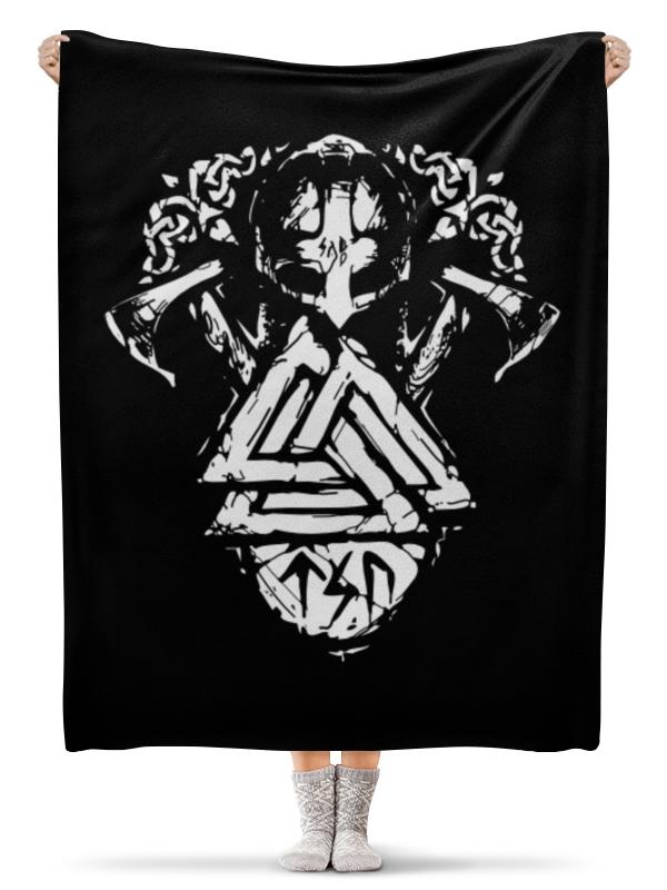 Плед флисовый 130х170 см Printio Путь воина детская футболка классическая унисекс printio metallica  st anger