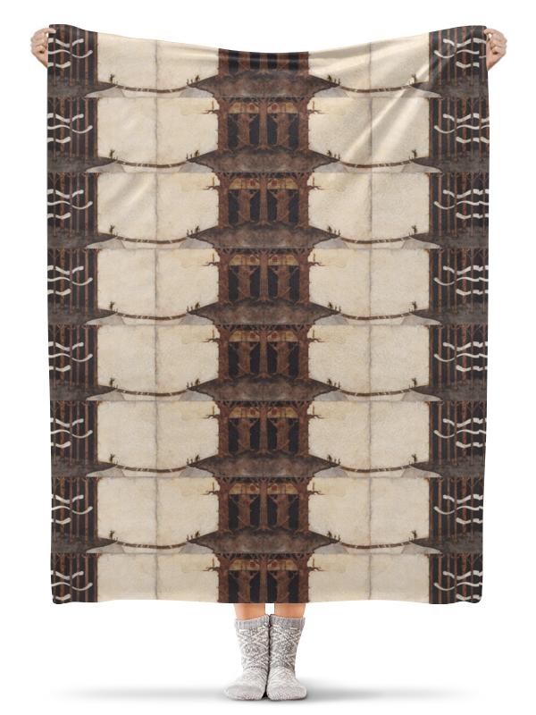 Плед флисовый 130х170 см Printio Лесной замок плед флисовый 130х170 см printio predator хищник